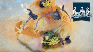 Bream sashimi, scallops kinome rice porridge and Sukiyaki wagyu beef recipes from Sosharu London