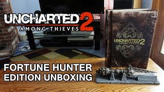 Uncharted 2 Among Thieves Fortune Hunter Edition w/ Phurba Dagger Replica Unboxing & Review - HD