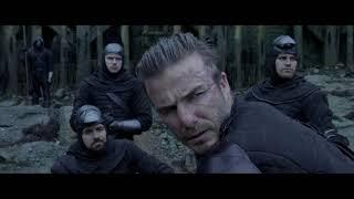 Артур вытаскивает меч из камня / Камео Дэвида Бекхэма / Меч короля Артура (2017)