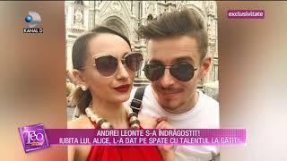 Teo Show (12.09.2018) - Iubita lui Andrei Leonte, Alice, l-a dat pe spate cu talentul la g ...