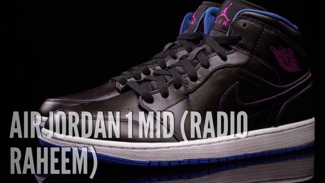sports shoes 9d788 fa470 AIR JORDAN 1 MID (RADIO RAHEEM)  SNEAKERS T