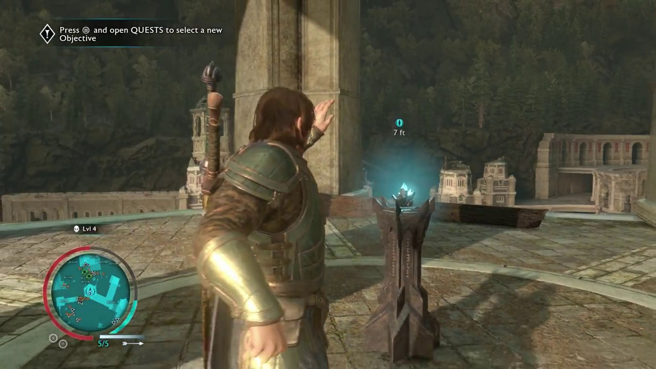 Middle Earth Shadow Of War Collect Final Ithildin In Minas Ithil
