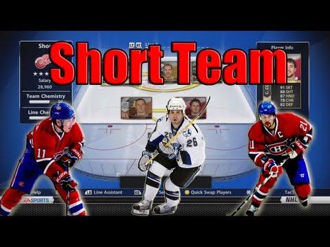 NHL 13 HUT   Team Builder: Shortest Team Ever!   TacTixHD