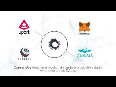 Welcome To ConsenSys And The Ethereum #Blockchain