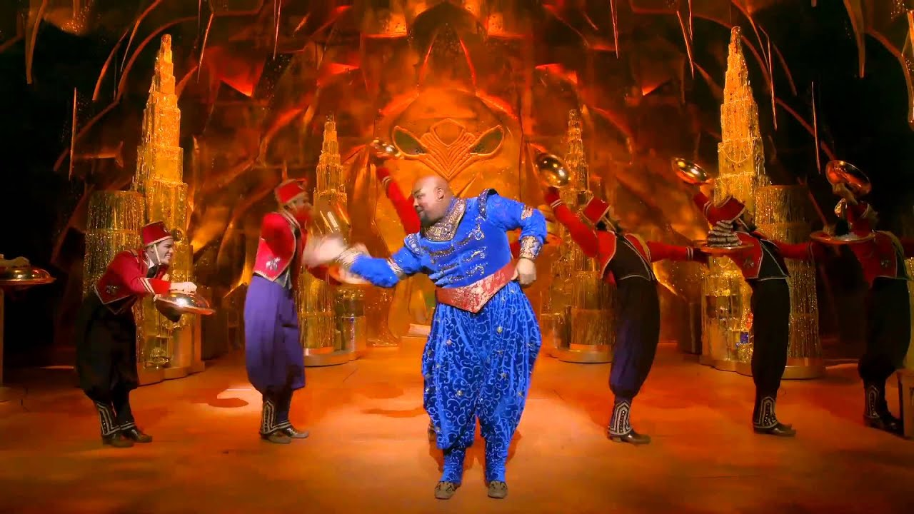 Aladdin the Musical on...