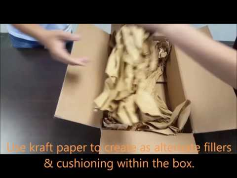 Using Kraft Paper As An Alternative Fillers
