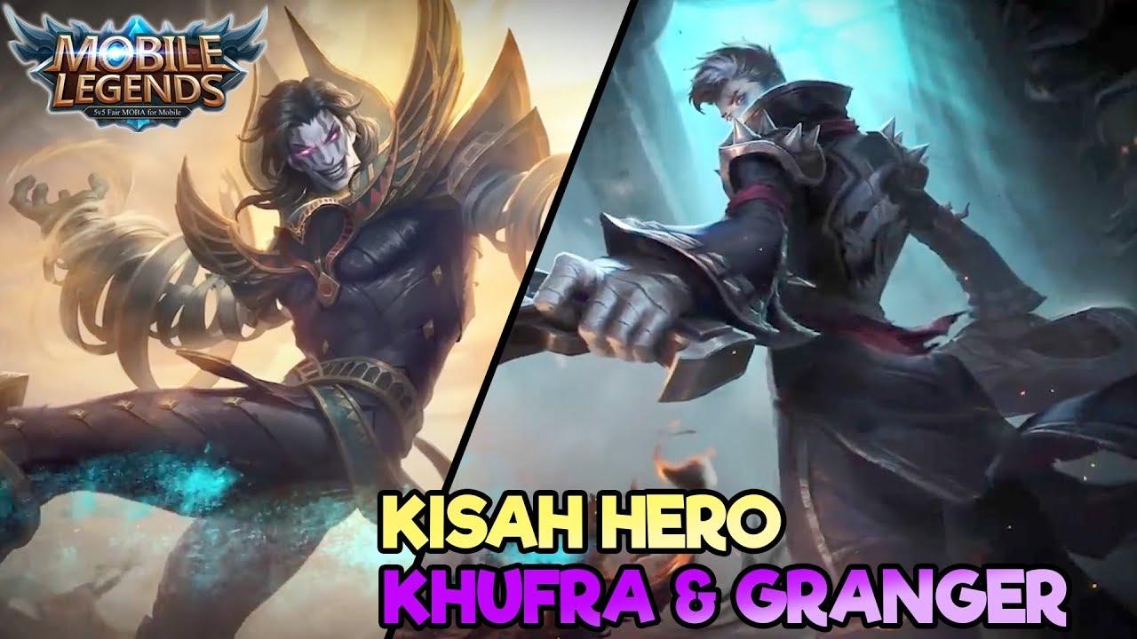 KISAH HERO KHUFRA DAN GRANGER 😍 MOBILE LEGEND INDONESIA