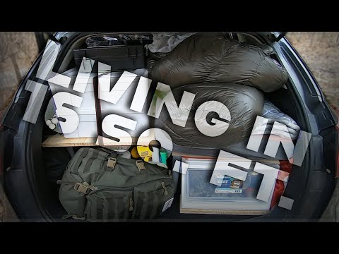 LIVING IN 16 SQ. FT. CAR TOUR | Living in my SUV
