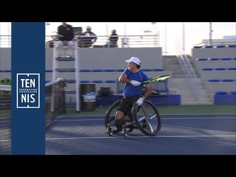 Highlights : Houdet vs Gerard - NEC Wheelchair Tennis Masters 2018 | FFT