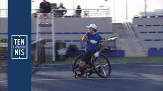 Highlights : Houdet vs Gerard - NEC Wheelchair Tennis Masters 2018 | FFT