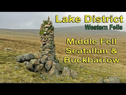 Lake District - The Western Fells - Middle Fell, Seatallan & Buckbarrow