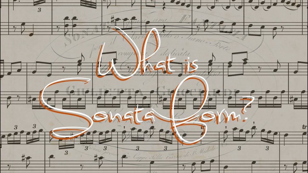 What is a sonata? 12