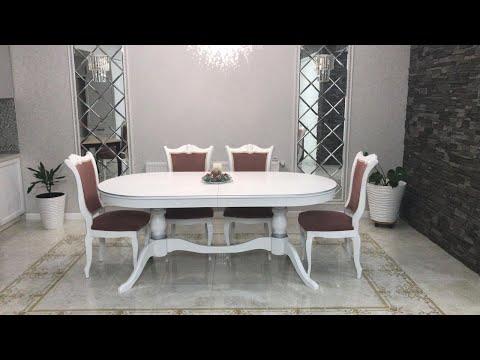 Столы обеденные классические  раздвижные купить Краснодаре.Стулья,столовые группы от производителя .