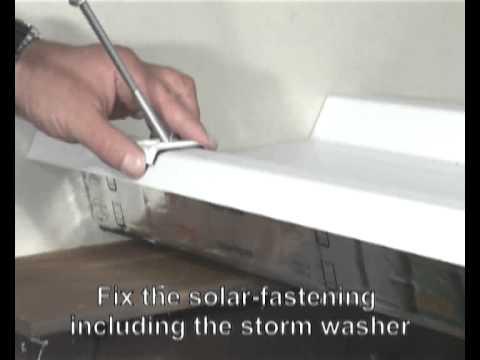 Ejot Solar Fastener Installation