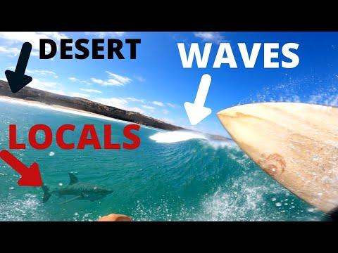 SURFING ALONE IN THE DESERT | SOUTH AUSTRALIA