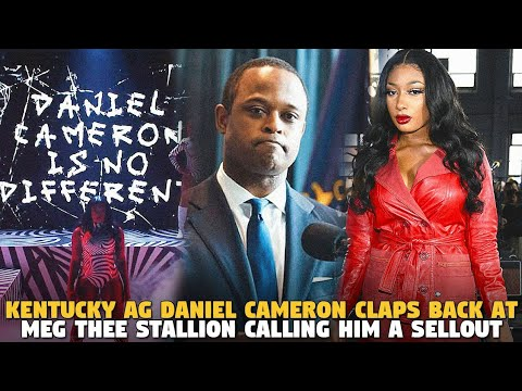 Kentucky AG Daniel Cameron Claps Back At Meg Thee Stallion Calling Him a Sellout