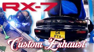 Mana Performance - Mazda RX7 FD Custom Exhaust Fabrication, Rotary Sounds!