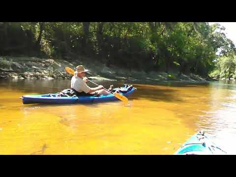 Yellow sand, Alapaha River