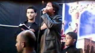 Zain Abbas Shah Live in Shab-e-Dari at Khokarapar Malir - 31 Dec 2011