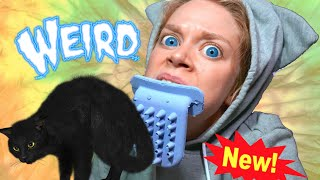 NEW SERIES! WORLD'S WEIRDEST CAT ITEMS FT. LICKI BRUSH