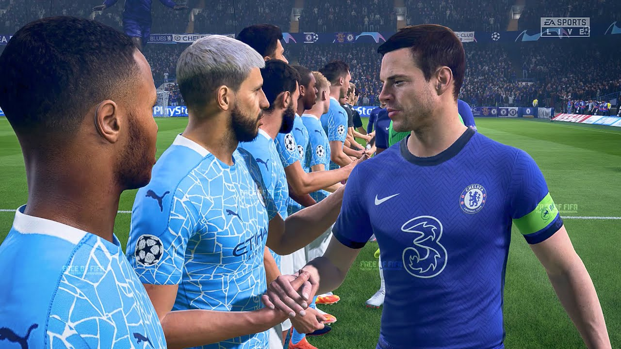 FIFA 21 GAMEPLAY - CHELSEA v MANCHESTER CITY