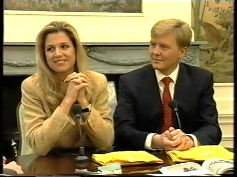 interview maxima 40 jaar Maxima en Prins Willem Interview JeugdJournaal   YouTube interview maxima 40 jaar