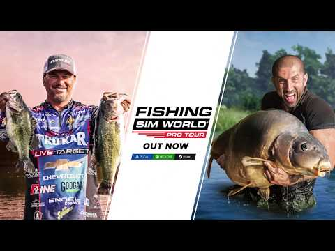 Celebrity anglers feature in Fishing Sim World: Pro Tour