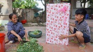Hưng Vlog - Troll Mẹ Bà Tân Vlog Tặng Món Quà Khổng Lồ Và Cái Kết