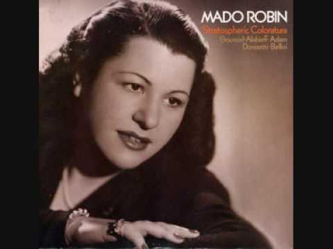 Mado Robin - Le Rossignol - Salavieï - Alabiev