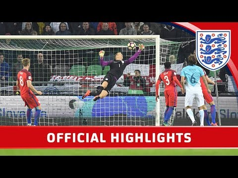 Slovenia 0-0 England (2018 World Cup Qualifier) | Official Highlights