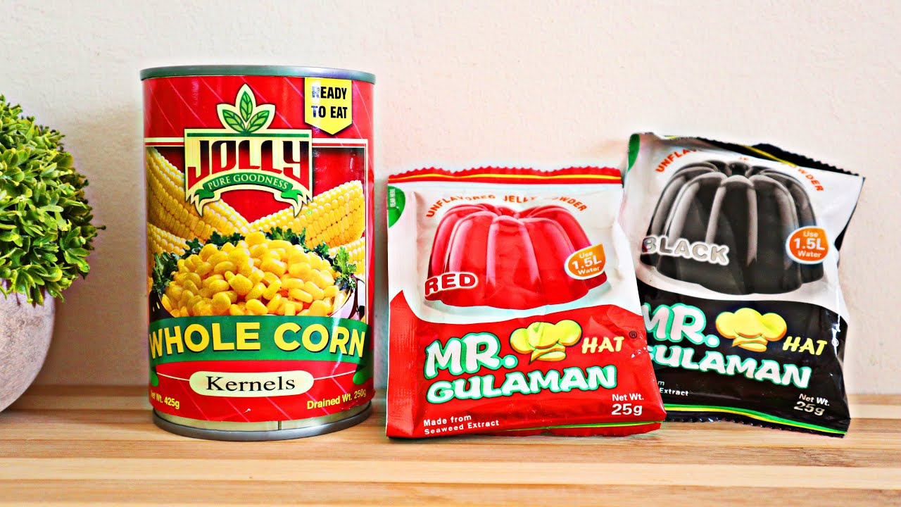 Gawin ito! Hindi lang Pang Pamilya, Pang Negosyo pa! Simple, Easy & Yummy Dessert! Corn Jelly Salad