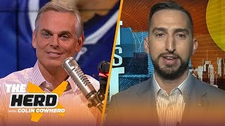 Nick Wright isn't anointing Clippers 'new Kings of LA' just yet, Patriots SB chances | THE HERD
