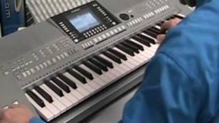 Yamaha PSR-S910 - Demo style Pop