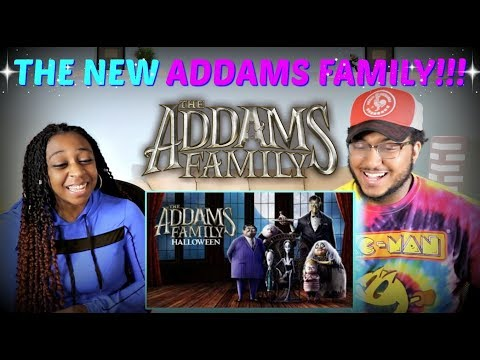 """""""THE ADDAMS FAMILY"""" Official Trailer REACTION!!!"""