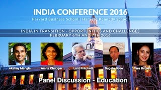 2016 India Conference Panel: Education