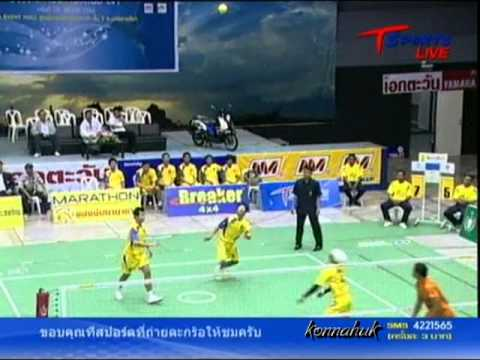 2011 Sepak Takraw Thailand League / Loei Vs Ratchasima- set 1