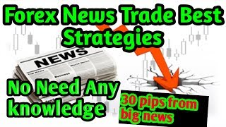 Forex News Strategies No need any news knowledge for this trading strategies,