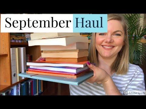 September 2018 Book Haul