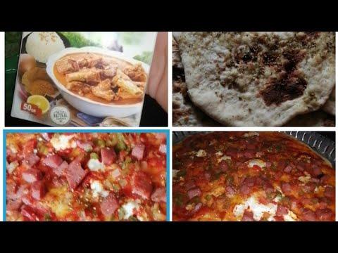 صورة  طريقة عمل البيتزا طريقه عمل البيتزا بالعجينه العاديه 🍕أو خبزت خبز بالزعتر 😋أو مسواك وبهارات المفضله عندي طريقة عمل البيتزا من يوتيوب