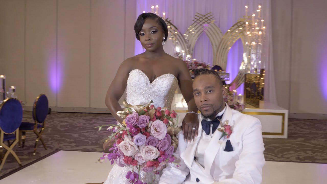 Umar & Porsha Carter Wedding Day