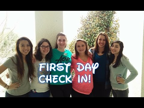 DCP SA. 2015: FIRST DAY CHECK-IN!