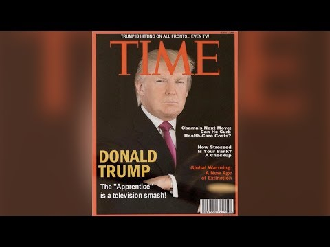Trump's fake TIME cover, backlash for tweets about a cable anchor