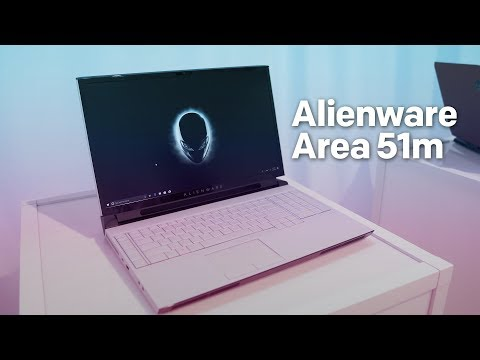 Alienware Area-51m is an absolute powerhouse with a desktop-class