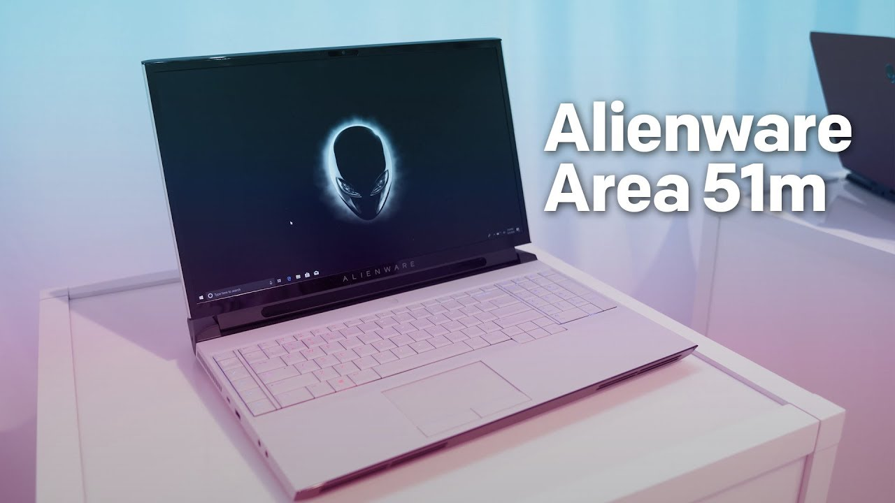 Alienware Area-51m is an absolute powerhouse with a desktop