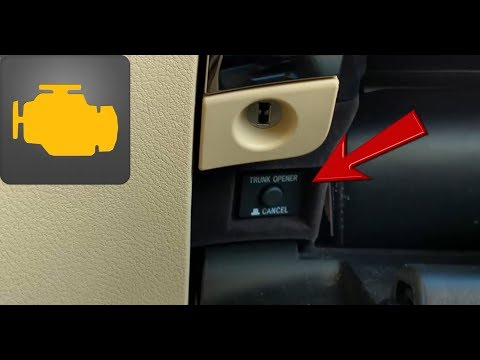 Dealing with a Trunk that Refuses to Open in a Push Button or Keyless Start Car