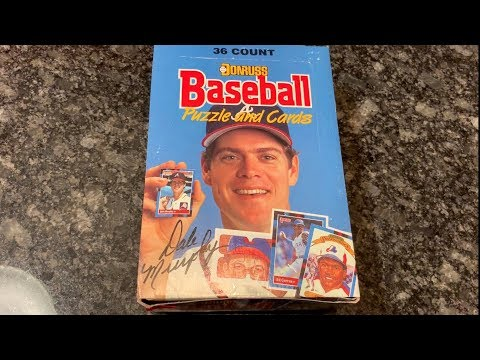 THROWBACK THURSDAY: 1988 DONRUSS BOX OPENING