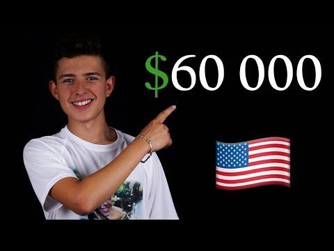 СПЕЧЕЛИХ $60 000 ЗА ДА УЧА В САЩ   Илиян