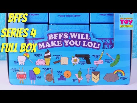 Kidrobot BFFS Series 4 Love Hurts Blind Box Vinyl Figures Review Unboxing | PSToyReviews