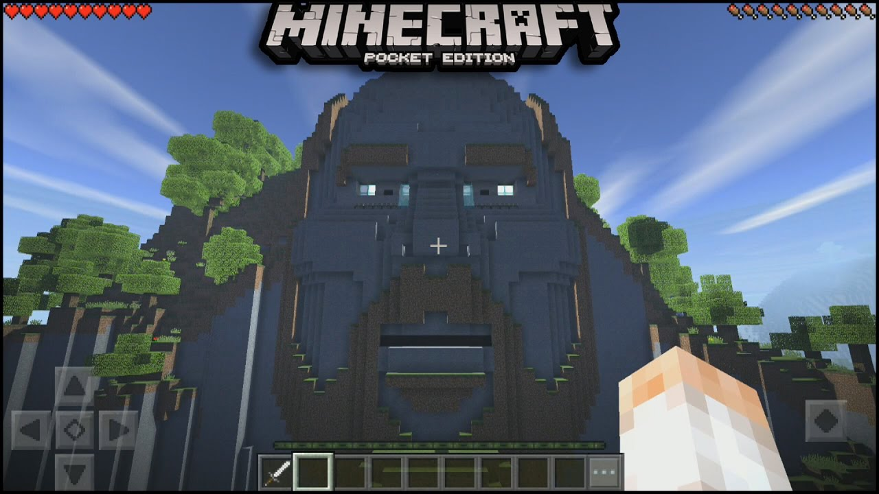 The Temple Of Notch Seed In Minecraft Pe New Update Minecraft PE - Minecraft die grobten hauser