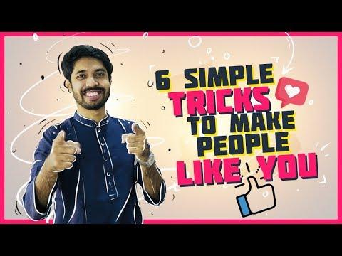 6 SIMPLE TRICKS TO MAKE PEOPLE LIKE YOU | People Skills | Ayman Sadiq